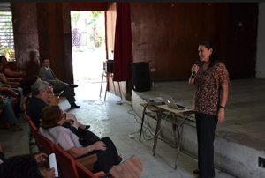 Blanca's testimony, teaching BE to her community
