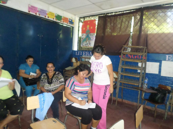 Teachers replicating the program in their school