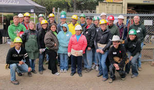 Executive Build Day at Rivergate Commons