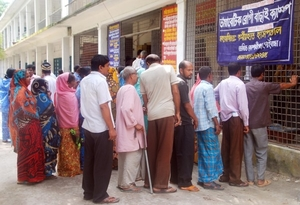 Diabetic Patients Waiting for Their Turns