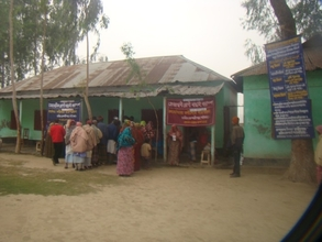 Eye & Diabetic Patients at Chapadaha Camp