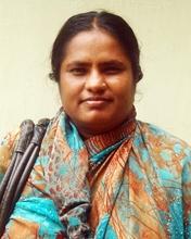 Farida Begum, a diabetic