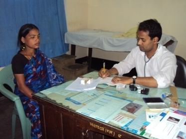 A diabetic patient consulting a Consultant