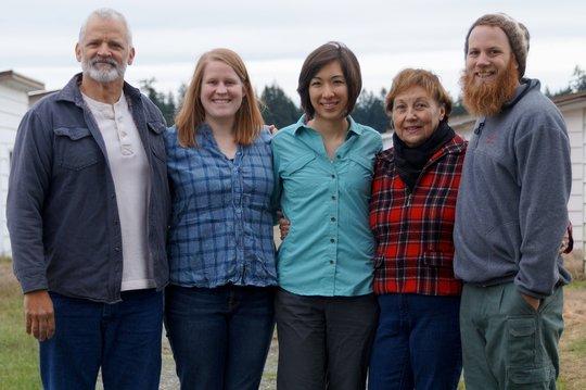 Pacific Rim Institute Staff. Christmas 2014