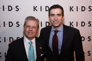 K.I.D.S. Chairman Kevin Burke and Andrew Sorkin