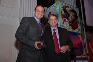 Honoree Steven Lawrence and Myron Ullman