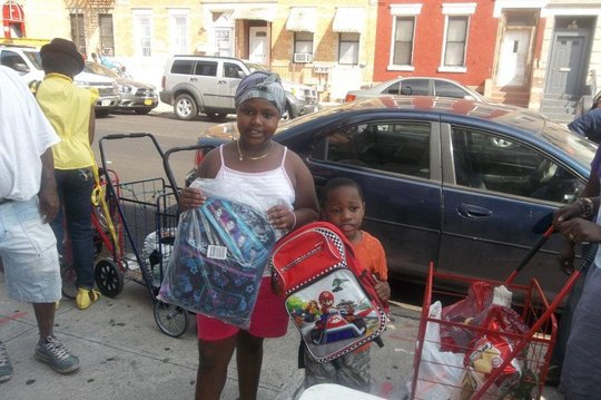 Backpack and Clothing Distribution in NYC