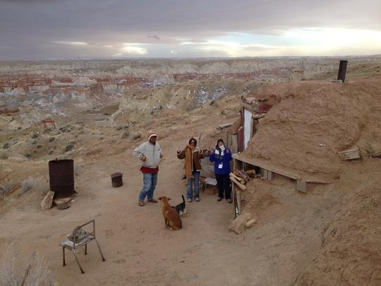 Hogan on the Navajo Nation