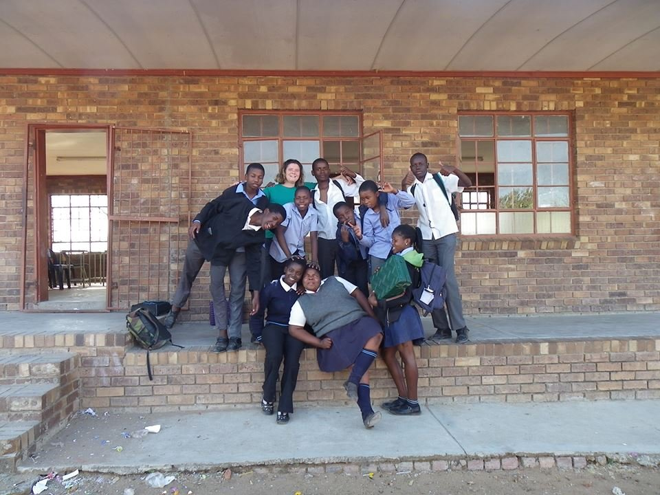 Machlamele Eco Club children and I