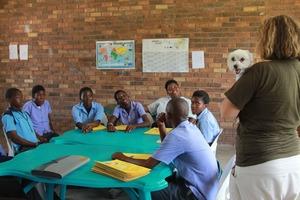 Shilo at the school !