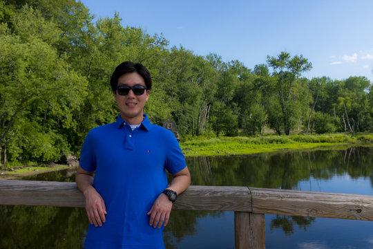 JinDong in America (near Boston, August 2015)