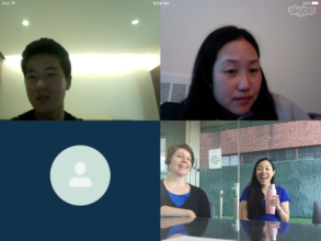 JinDong meets the KKOOM Board via Skype in July