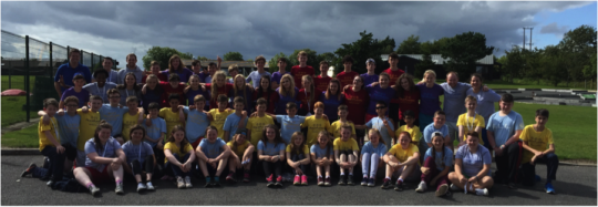 Happy Campers at Camp Alpha in Northern Ireland