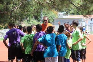 Pat Garrity at PPI-CY Summer Camp