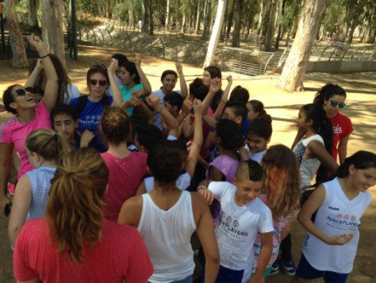 PPI-ME participants at a retreat