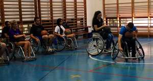 PPI-ME plays wheelchair basketball!