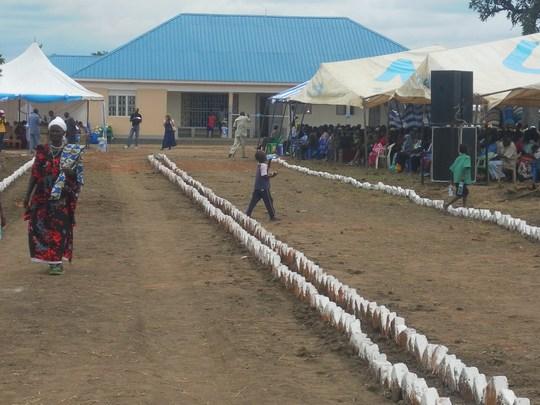 Kristina Health Center Dedication
