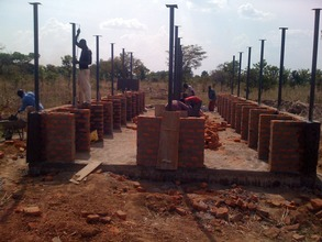 Construction of Patient Kitchen Shelter