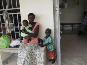 Family awaiting free immunization