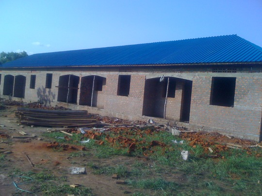 Staff Quarters nearing completion
