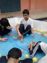 Daniel having fun