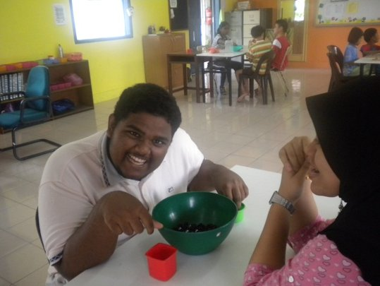 Equip deafblind children with skills for life!