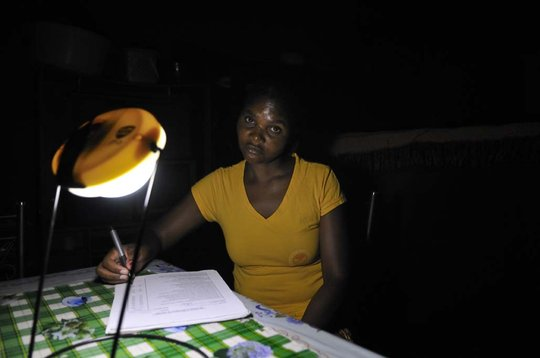 Annety - Solar Light Saleswoman