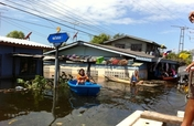 Support flood victims in Thailand