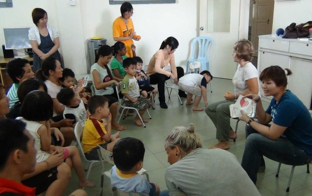 group activities enhance language & communication