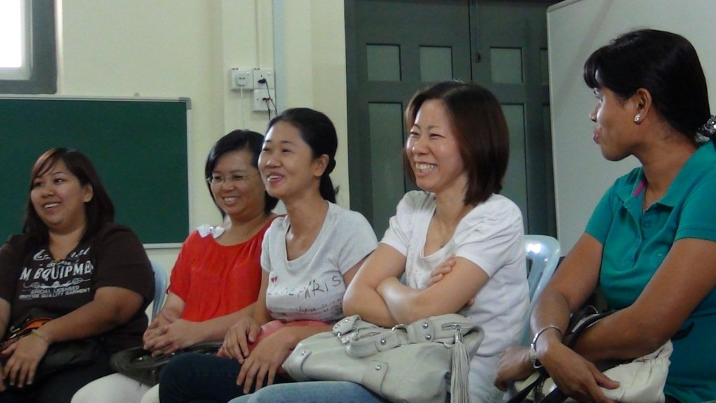PSG meeting - Moms share some funny moments