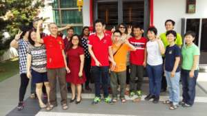YAP on their Chinese New Year visitation