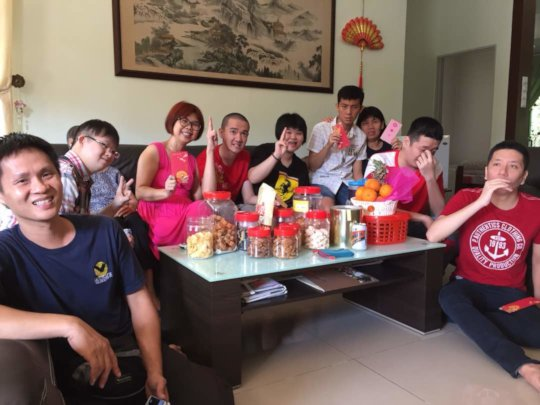 YAP during their CNY visitations