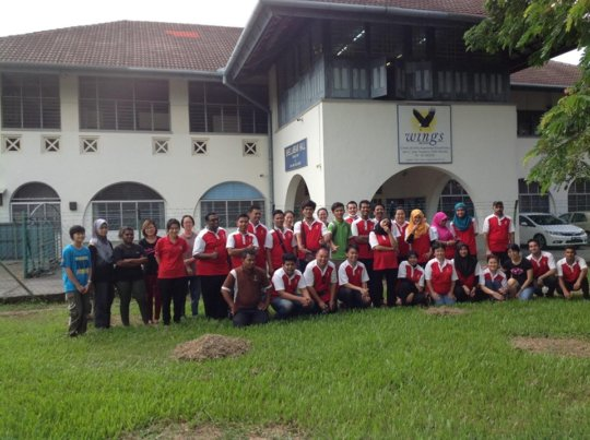Team from Philea Resort for their CSR