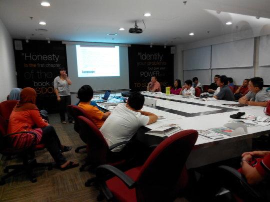 Coffee Session at MMC Melaka