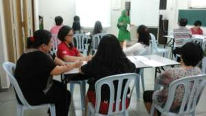 Dr Alefiya sharing in our most recent PSG
