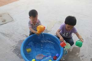 EIP: Students having fun in water play activities