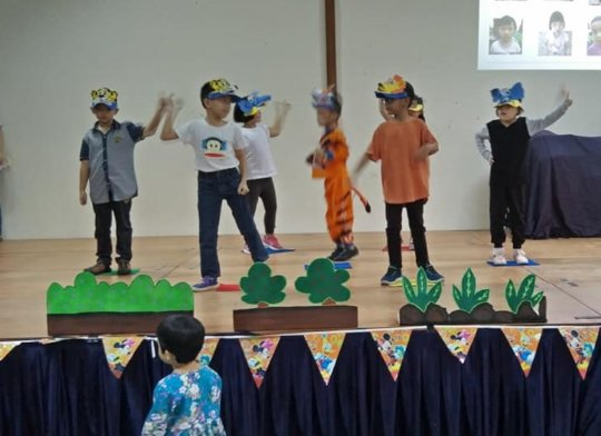 SAP perform their dance during Graduation Party
