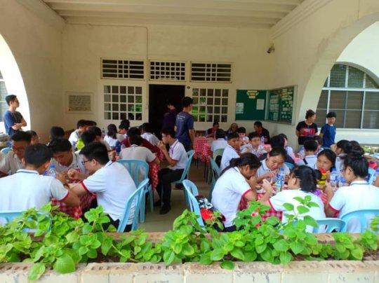 Visitors from Havil International School
