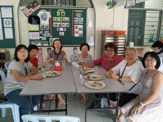 Ladies Christian Fellowship at our cafe