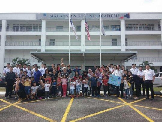 Outing to Malaysian Flying Academy, Melaka