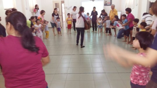 Music Therapy Workship by Oasis Place