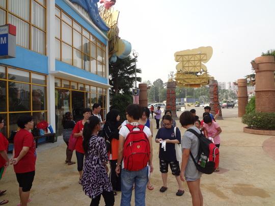 Outing to Melaka Wonderland Theme Park & Resort