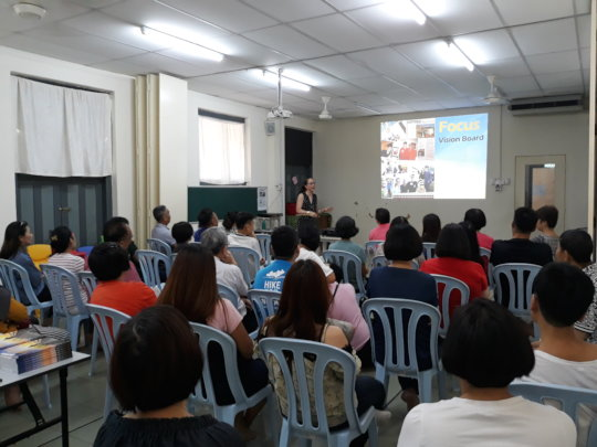 Parents Support Group with Ms Winnie Chin