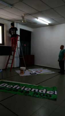 painting activity hall