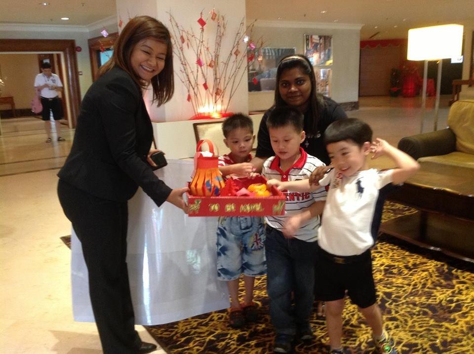 Thank you card to Hotel Equatorial Melaka