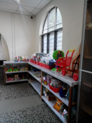 Toys in our resource centre