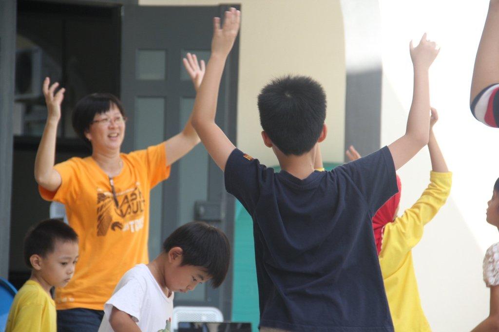 SAP: Having fun in an aerobics session