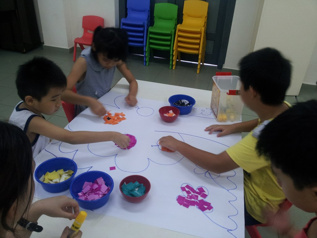 SAP during Art & Craft
