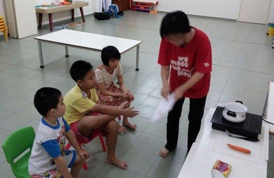 SAP during life skills session