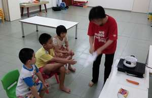 SAP during life skills session